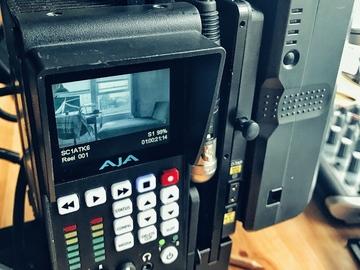 Rent: AJA Ki Pro Quad recorder (4K/UHD/2K/HD)