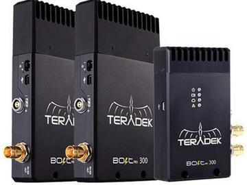 Rent: Teradek Bolt 300 SDI (2 Receiver, 1 Transmitter)