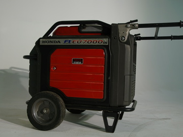 Rent: Honda EU7000is Fuel Injected Generator w/60amp Bates