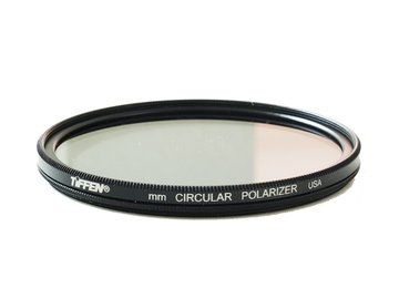 Rent: Tiffen 77mm Circular Polarizer w/ 72mm step-up ring