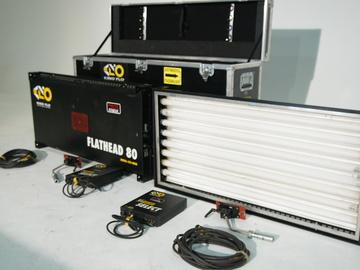Rent: Kino Flo Flathead 80 Kit (2 Lights)