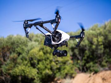 Rent: DRONE DJI Inspire 1