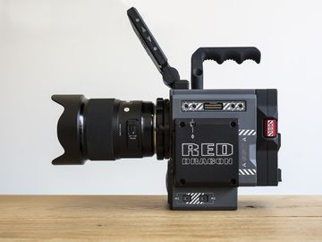 Rent: RED SCARLET DRAGON W 5K