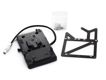 Rent: Freefly Gimbal Carbon V-lock Adapter Kit for RED EPIC