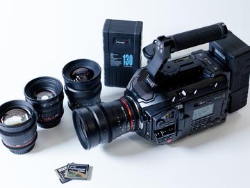 Rent: URSA MINI PRO 4.6k and Rokinon Lens Package