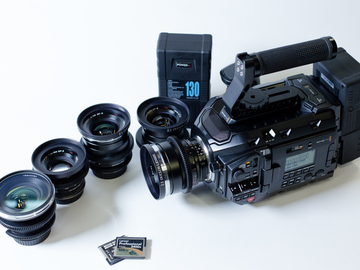 Rent: NEW!! URSA MINI PRO 4.6k and ZEISS Lens Package