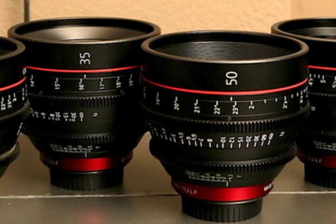 Canon CN-E Set