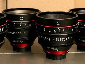 Rent: Canon CN-E Set