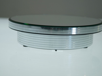 """12""""  Spinning Mirrored Turntable"""