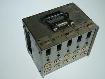 Rent: 100 Amp Pass-Thru Lunch Box