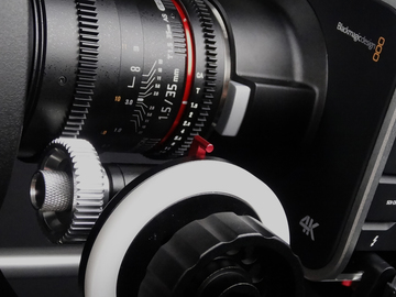 Rent: Blackmagic 4K Camera Package w/ Rokinon Cine Primes