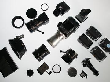 Rent: Hasselblad 500cm 3 Lens Kit