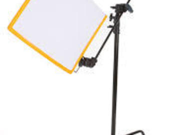 Rent: SMALL G&E PACKAGE C-STANDS, FLAGS, CLAMPS