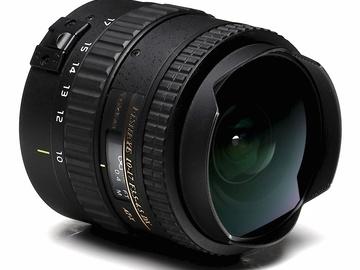 Rent: Tokina 10-17mm f/3.5 Fisheye Lens - Canon EF Mount