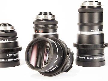 Kowa Prominar Anamorphic Lens Set