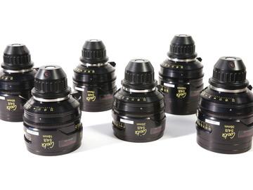Cooke S4/i Lenses - 6 set