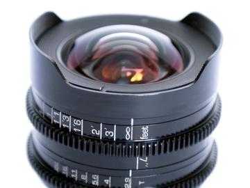 Rent: 12MM T2.9 PL-MOUNT Full-Frame (vistavision) LENS