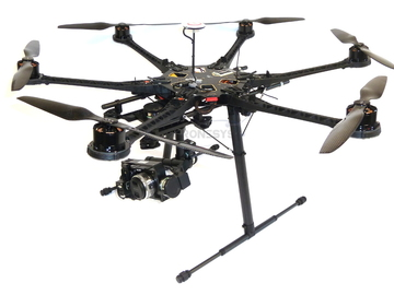 Rent: DJI S800 Evo / Z15/ NEX 5R / Dual Op / 1 pilot provided