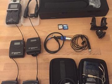Rent: Wireless, Shotgun, Zoom Kit