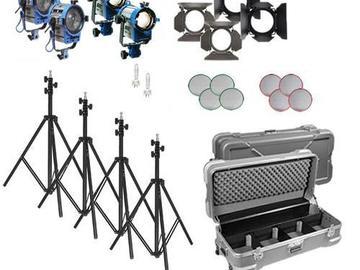 Arri 4 Light Fresnel/Openface Kit
