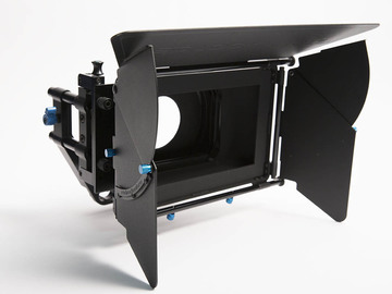 Rent: Redrock Micro Swing Away Matte Box with Deluxe Flag Kit