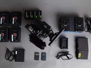 Rent: RED Epic MX Package + Canon Lens Kit + Tripod + Lav Mic
