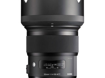 Rent: Sigma 50mm f/1.4 DG HSM Art Lens for Nikon F