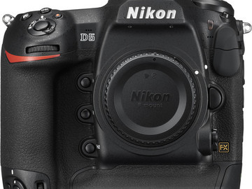 Rent: Nikon D5 DUAL XQD BASIC
