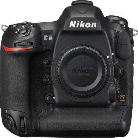 Nikon D5 DUAL XQD   (2)128 GB LEXAR XQD w/READER