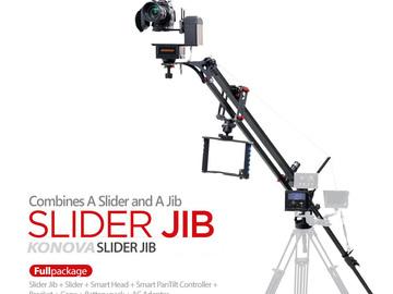 Rent: 4 foot slider / 8 foot motorized jib & motion-control kit