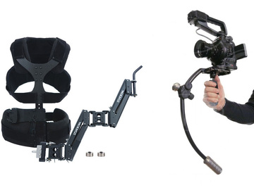 DSLR / small body Steadicam kit w/ vest and arm
