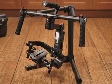 Rent: DJI Ronin M Kit (2 batteries, controller, case...)