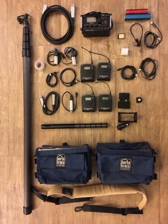 Tascam DR-60 Sound Kit (2 EW100 Lavs/1 Shotgun/Sennheiser)