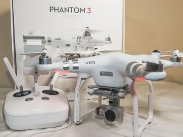 Rent: Phantom 3 Advanced W/ PolarPro Cinema Filters
