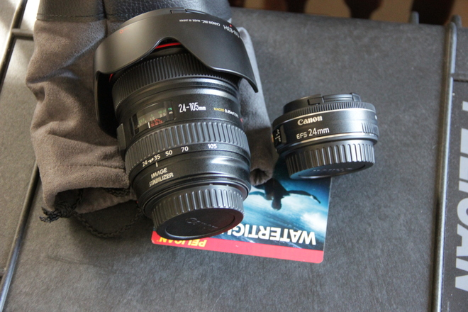Canon EFS 24mm f/2.8 STM Lens