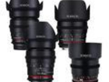 Rent: Rokinon Cine DS 5 lens kit