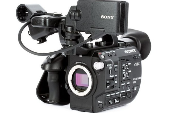 Sony FS5 camera package w/ 3 lenses