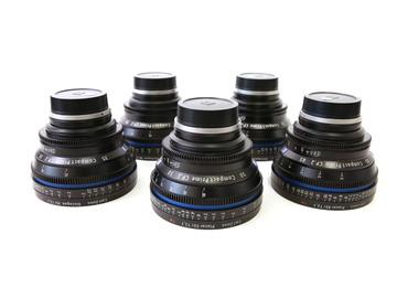 Rent: Zeiss CP.2 Lens Set