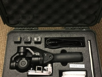 Rent:  DJI Osmo X3 4K Camera Package