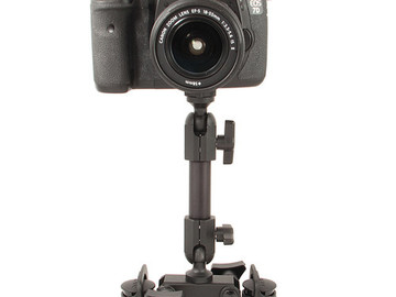 Rent: Delkin Devices Fat Gecko Dual-Suction Camera Mount