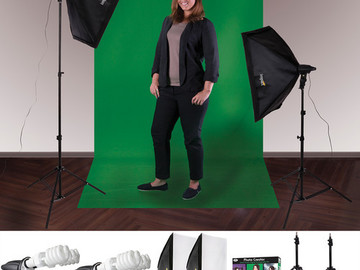 Rent: Impact Soft and Natural Creator 4 Socket 2 Light Kit