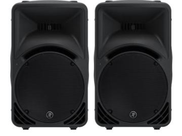 Rent: 2 x Mackie SRM450v2 Self-Powered Speaker