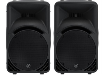 Rent: 2 x Mackie SRM450v2 Self-Powered Speaker