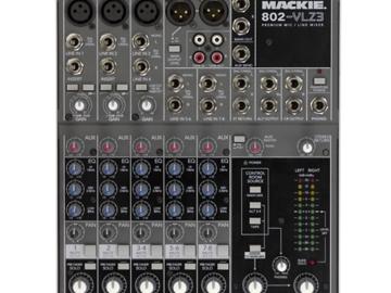 Rent: Mackie 802-VLZ3 Compact Mixer