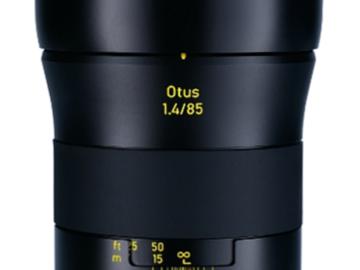 Rent: Zeiss Otus 85mm (EF mount)