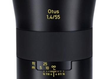 Rent: Zeiss Otus 55mm (EF mount)