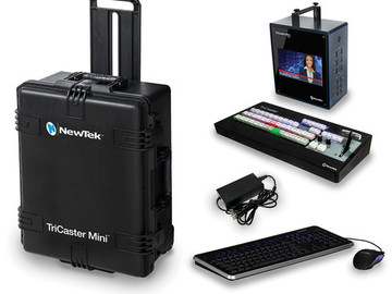 TriCaster Mini HD-4i w/ Control Surface & Travel Case