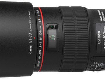 Canon 100mm f2.8/L Macro IS USM Lens (EF)