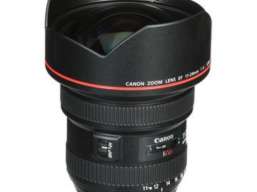 Rent: Canon EF 11-24mm f/4L USM Lens