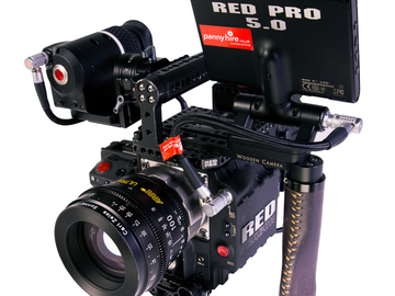 "Rent: RED EPIC DRAGON 6K: 7"" RED TOUCH LCD + 3 x OLPF's + PL + EF"